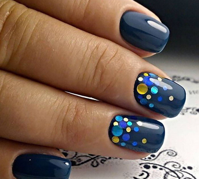 Комифубики для ногтей дизайн на короткие