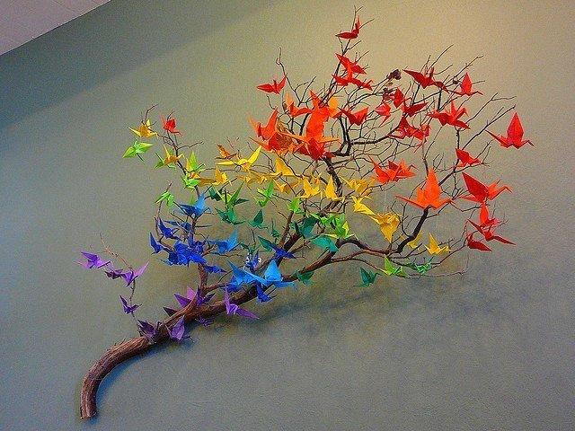 Дерево из веток для поделки 165