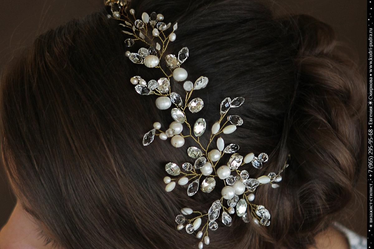 Украшения для волос своими руками для девочек 54