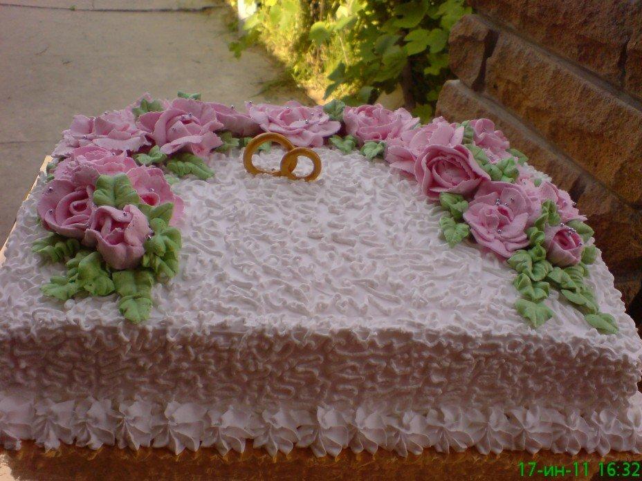 Торт квадратный в домашних условиях 414
