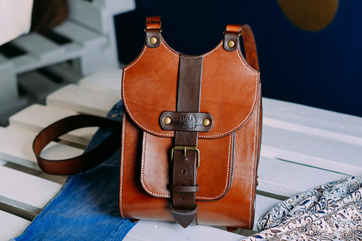 Как сделать кожаный рюкзак своими руками 54