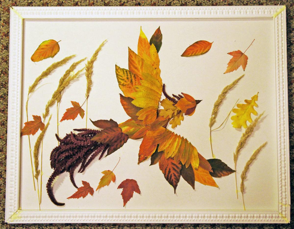 Картины поделки осень 25