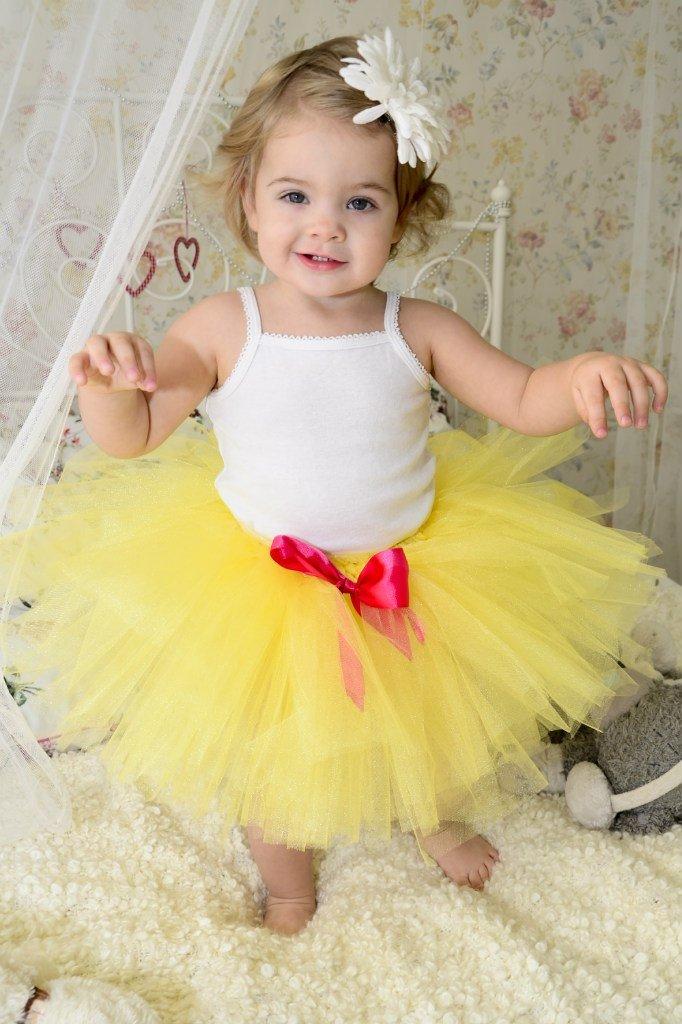 Пышная юбка ребенку своими руками