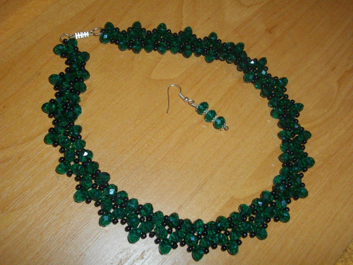 Ожерелье из бисера своими руками мастер 31