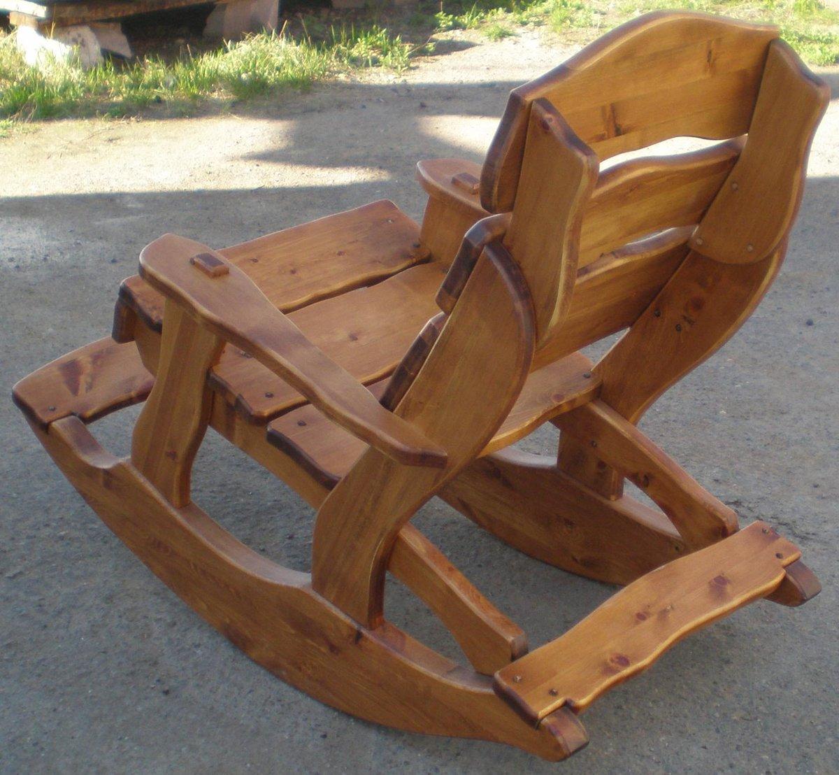 Кресло качалки своими руками