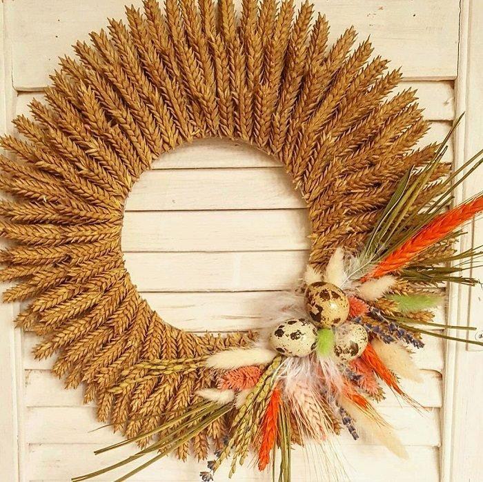 Поделка колос пшеницы своими руками 321