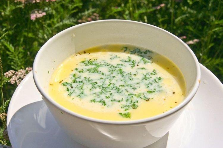 Суп пюре с плавленным сыром рецепт