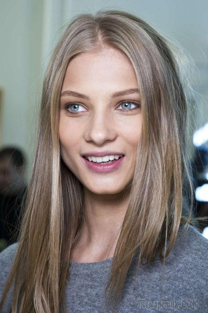 Как сделать русые волосы красивее 694