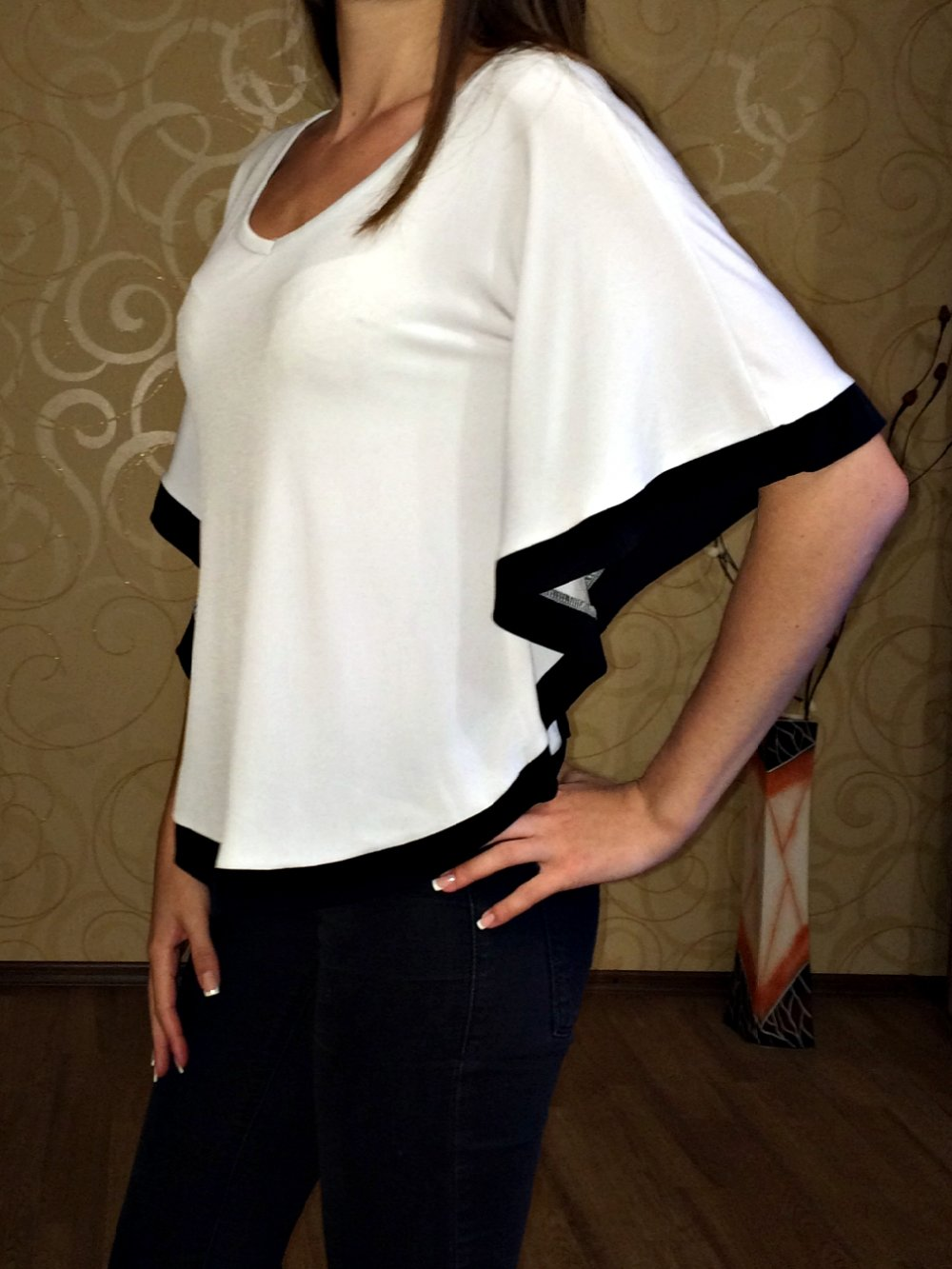 Фото как правильно сшить блузку