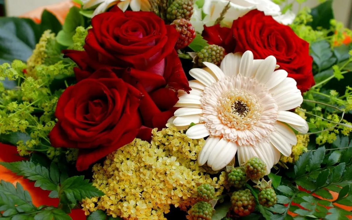 Яндекс букет цветы фото