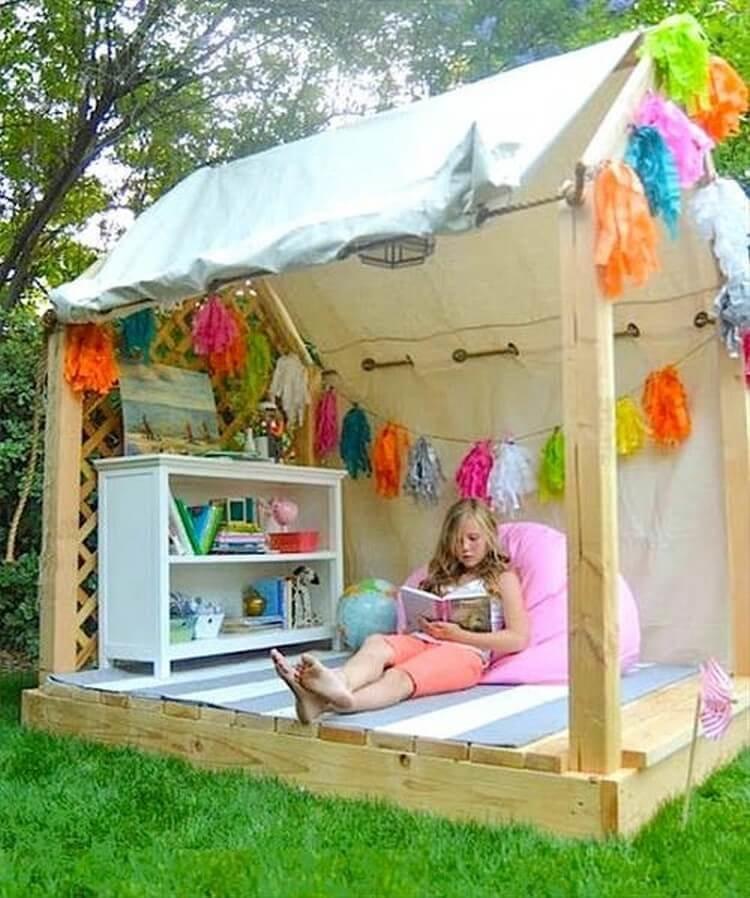 Фото домиков для детей своими руками 61