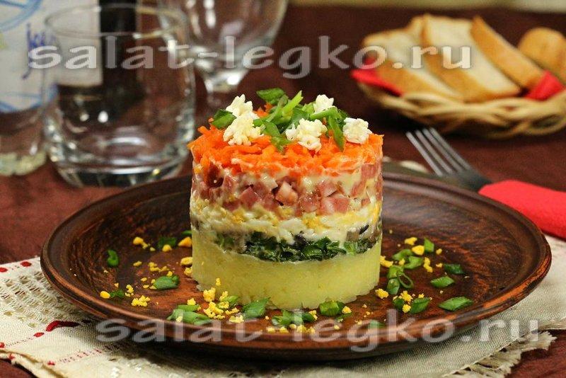 Фото салатов недорогих но вкусных