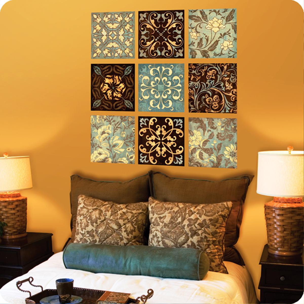 Декор стен бабочками своими руками: трафареты, шаблоны для 47