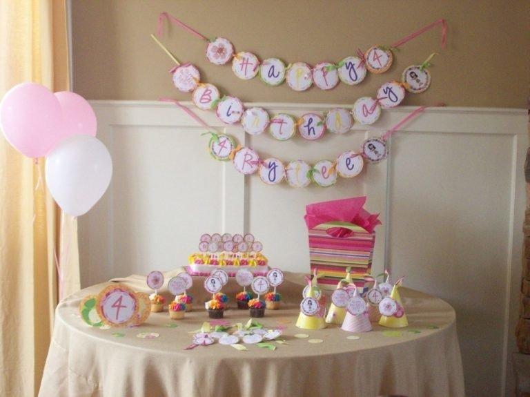Как оформить комнату на день рождения ребёнка 1 год своими руками 6