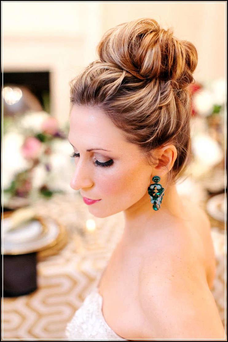 Свадебная прическа в элегантном стиле