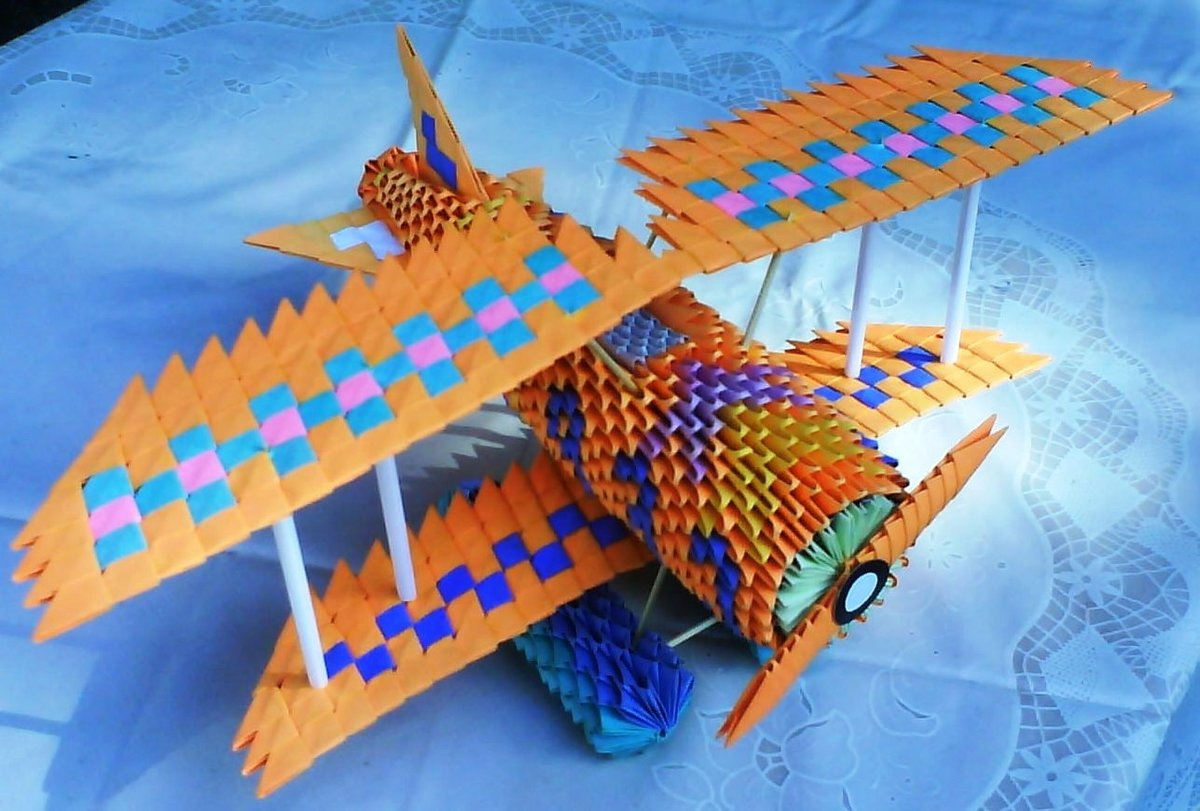 Самолёты из модулей схема