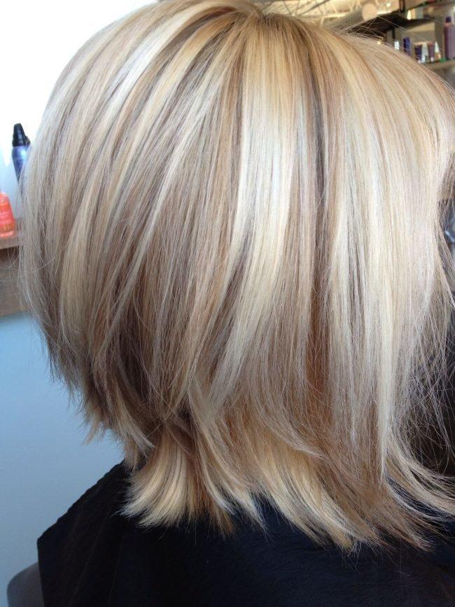 Красивое мелирование на светлые волосы фото 107