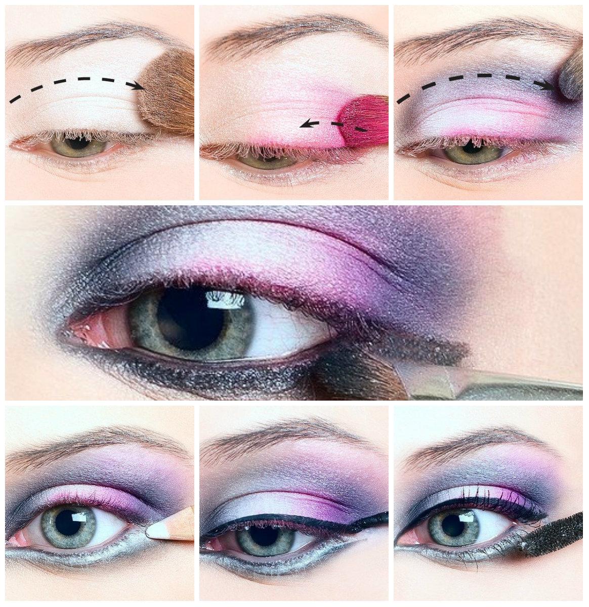 Макияж глаз с нависшим веком 16