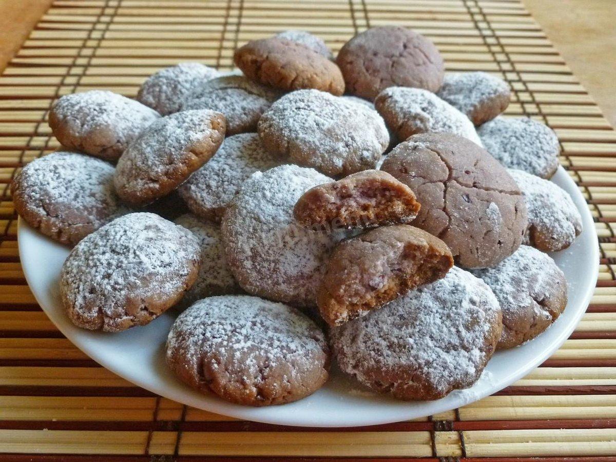 Как сделать печенье без сметаны 1000