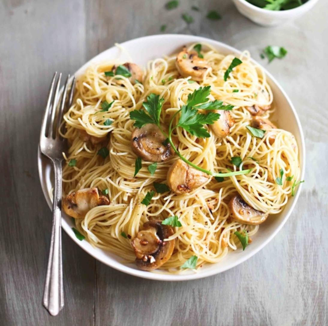 Паста карбонара рецепт с грибами