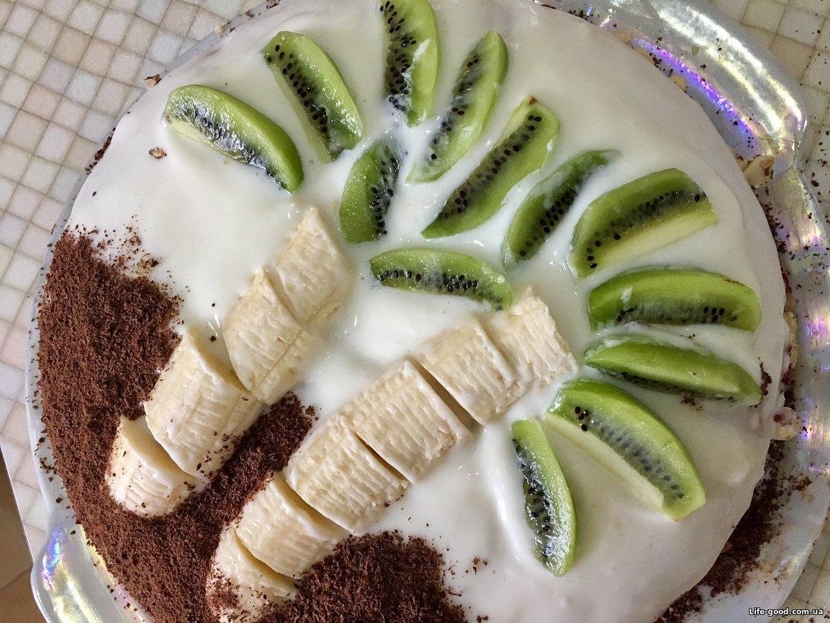 Бисквитный торт в домашних условиях быстро и вкусно