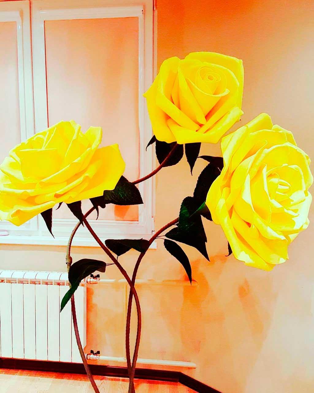 Ростовая роза своими руками 474