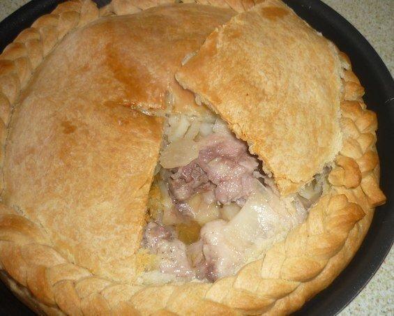 Тесто курник с мясом и картошкой пошаговый рецепт