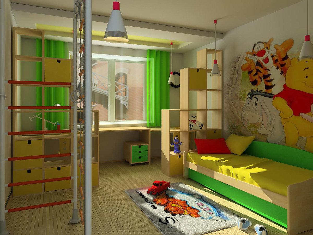 Детские комнаты для мальчиков дизайн 2 года