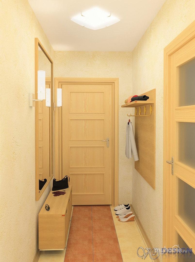 Ремонт маленького коридора в хрущевке фото своими руками 62