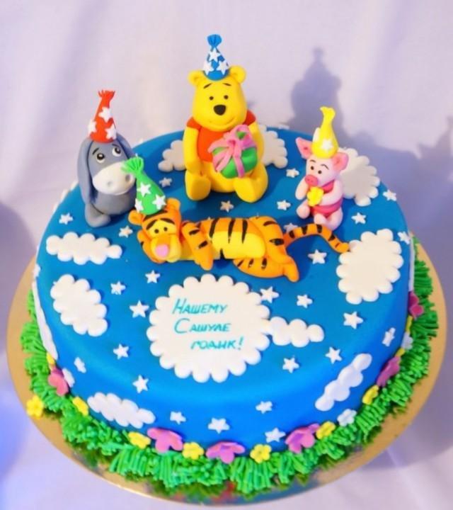 Торт на день рождения для детей 5