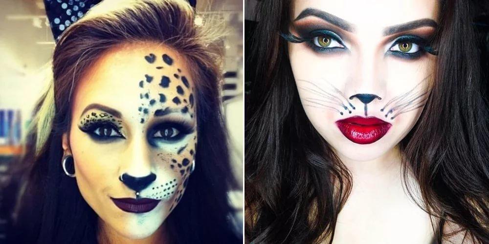 Как сделать грим на хэллоуин в