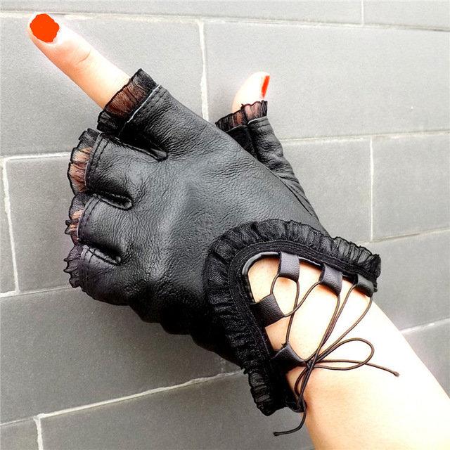 Как сделать перчатки без пальцев своими руками мужские 48