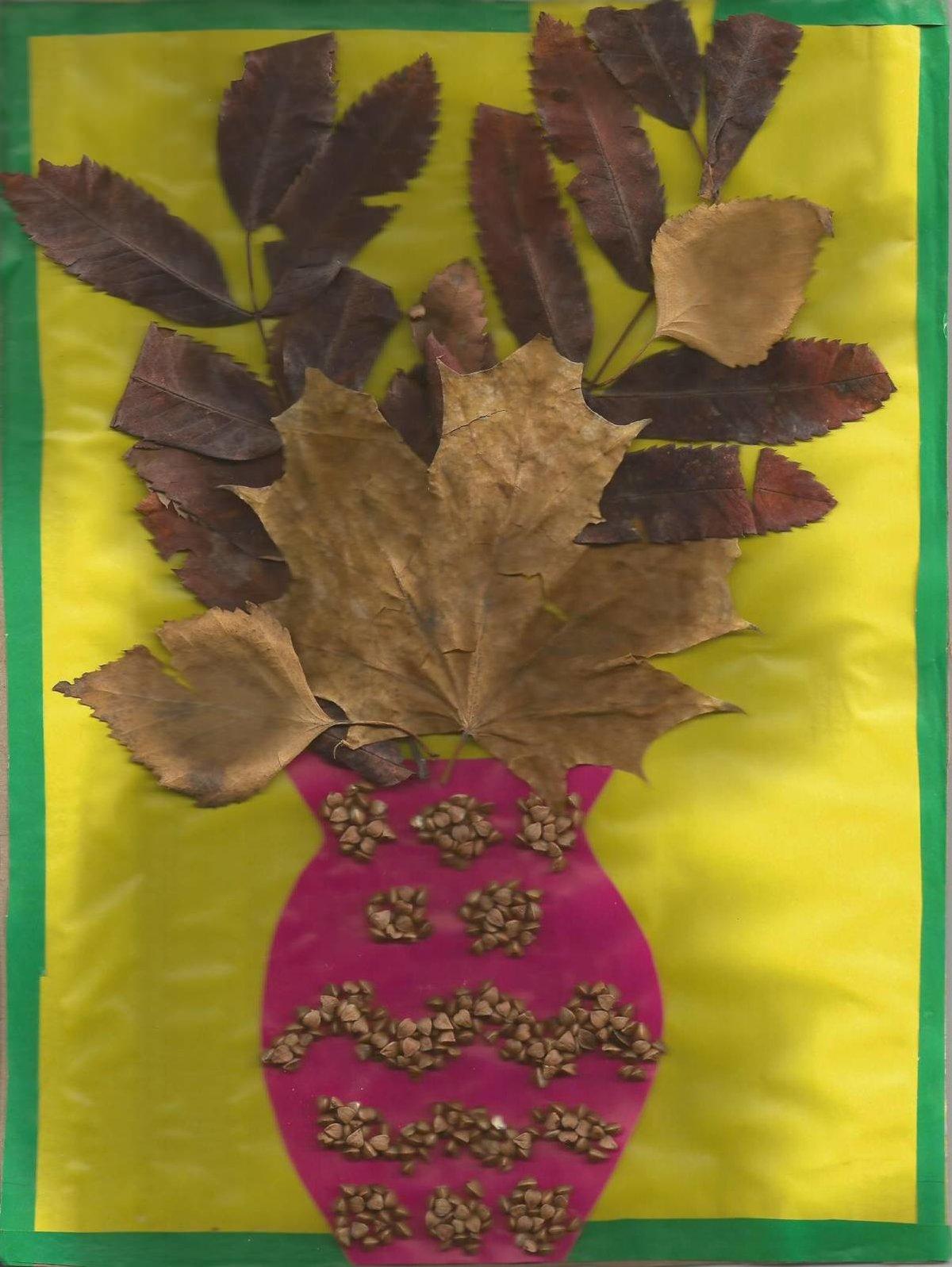 Осенние поделки своими руками для школы и детского сада из 45