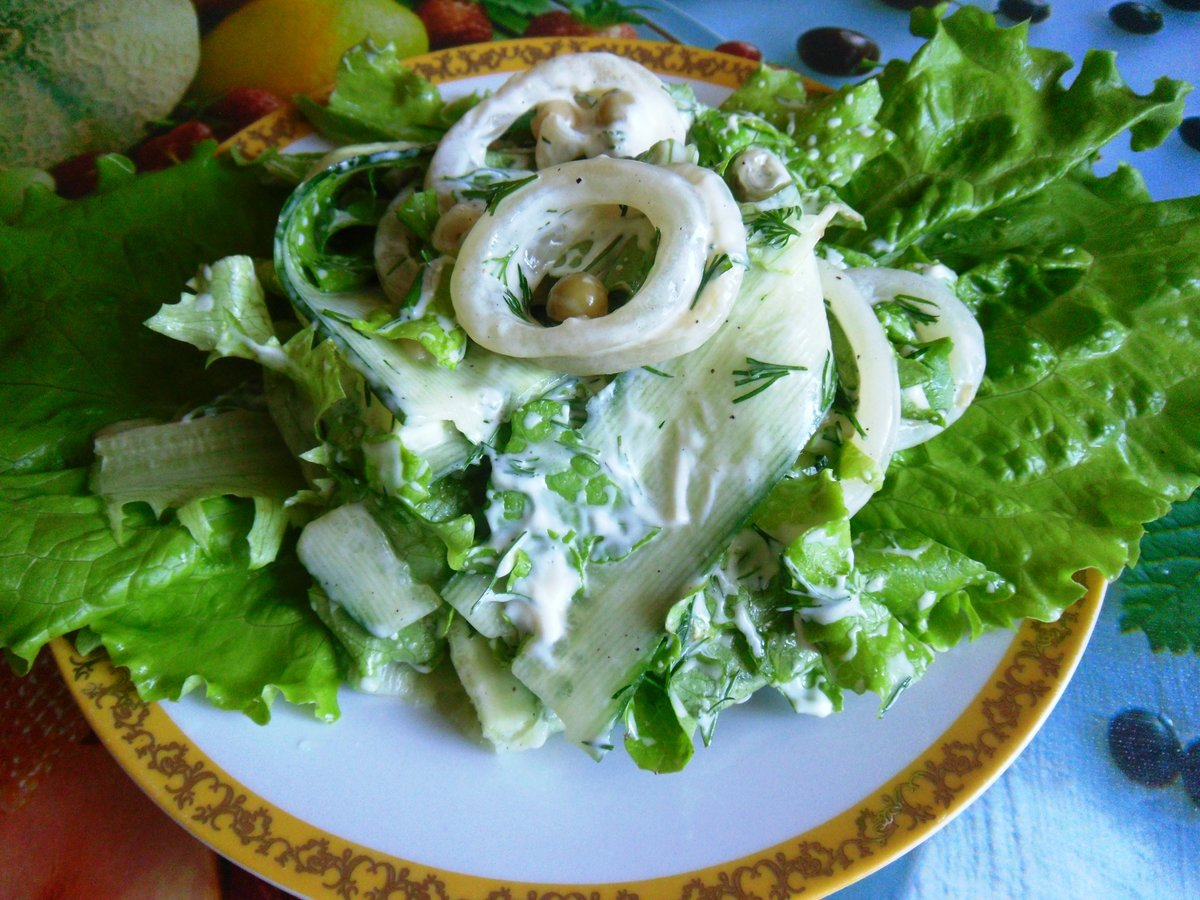 Салат медуза рецепт