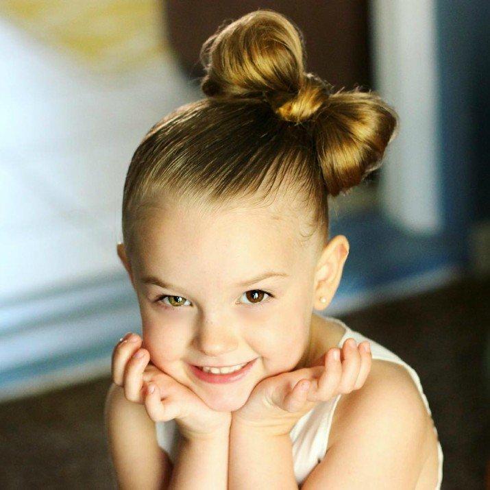 Бант из волос для девочки своими руками