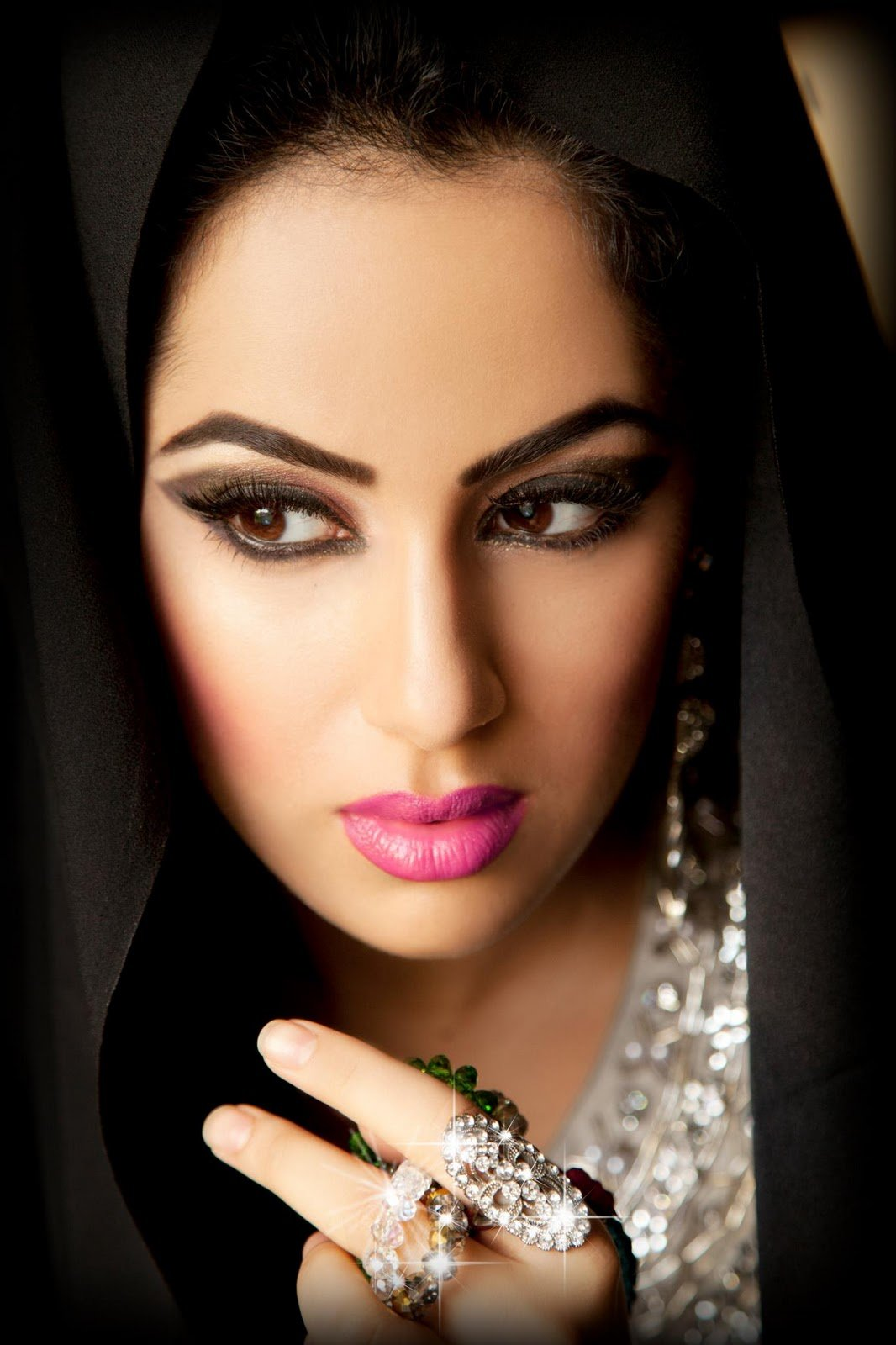 Арабски макияж фото для невесты