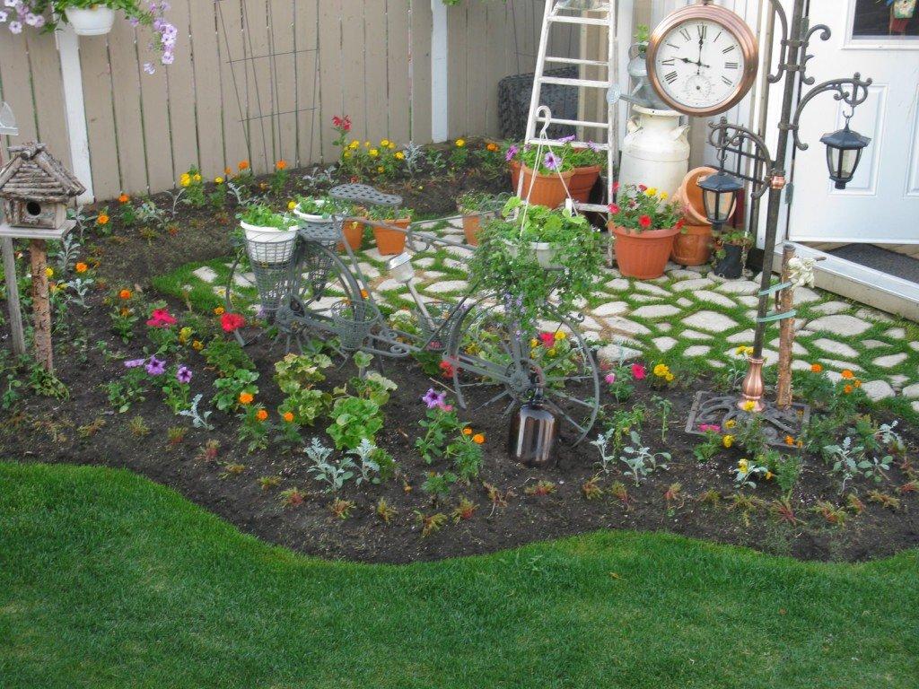 Садовы участок своими руками с фото 452