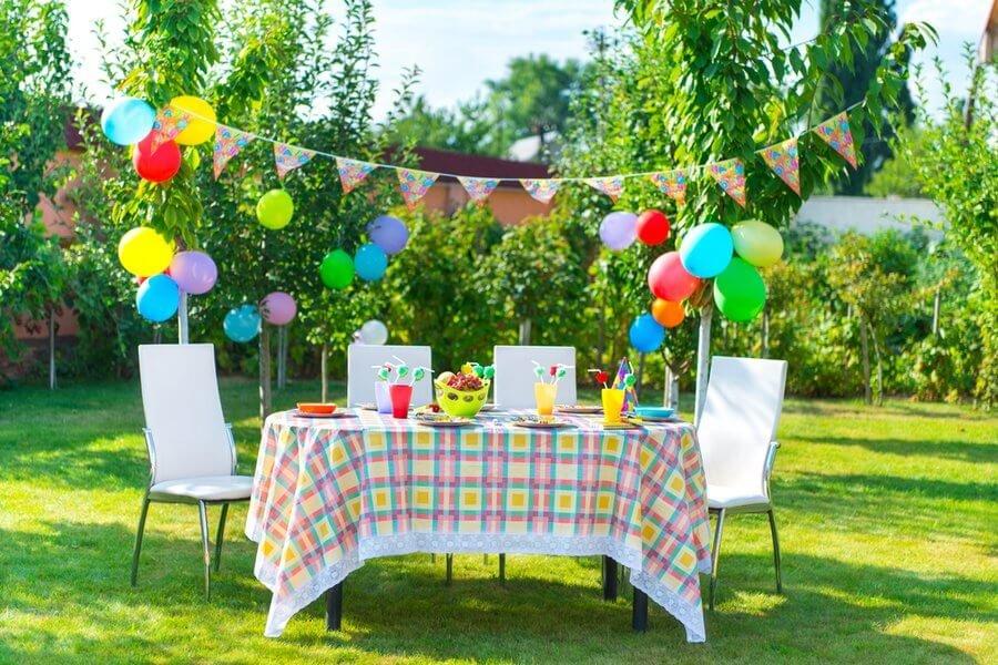 Украсить двор на день рождения ребенка своими руками 30