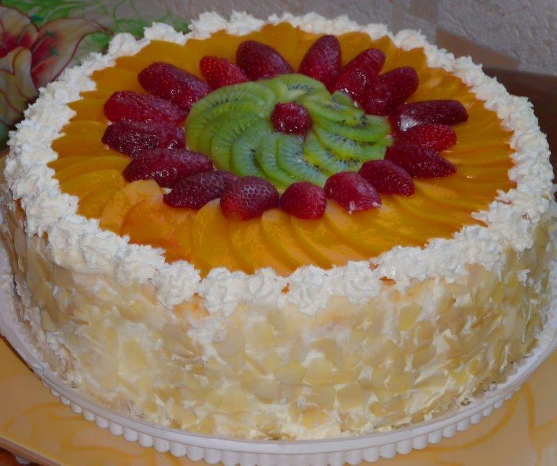 Как в домашних условиях сделать красивый торт 65
