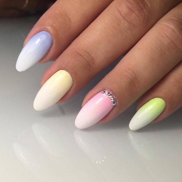 Дизайн ногтей омбре 2017