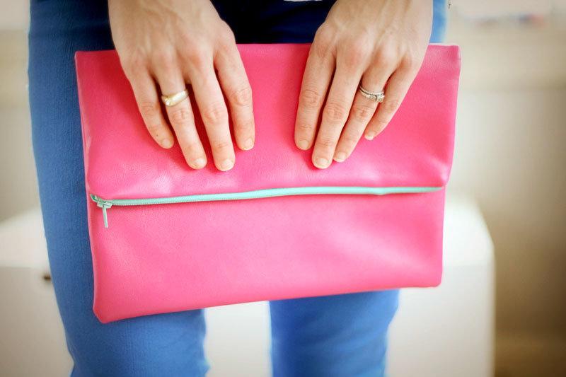 Как своими руками сшить сумку клатч 54