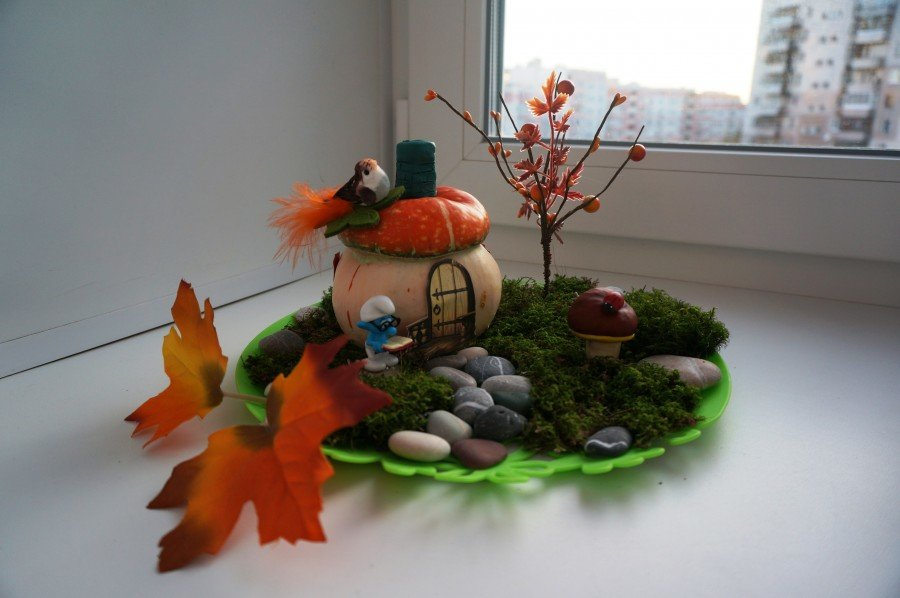 Фото осенние поделки в садик