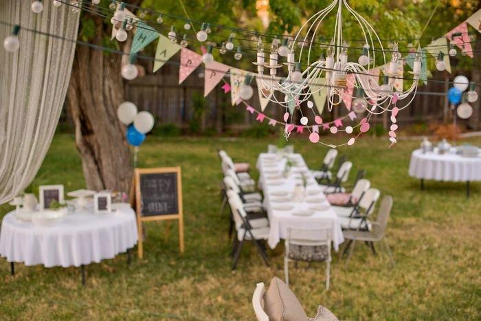 Оформление свадьба на природе своими руками 43