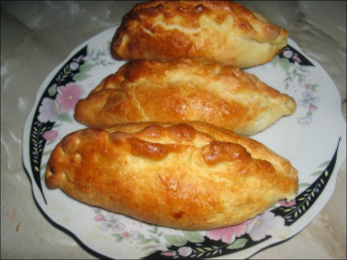 Пирожки с рыбой в духовке пошаговый рецепт с