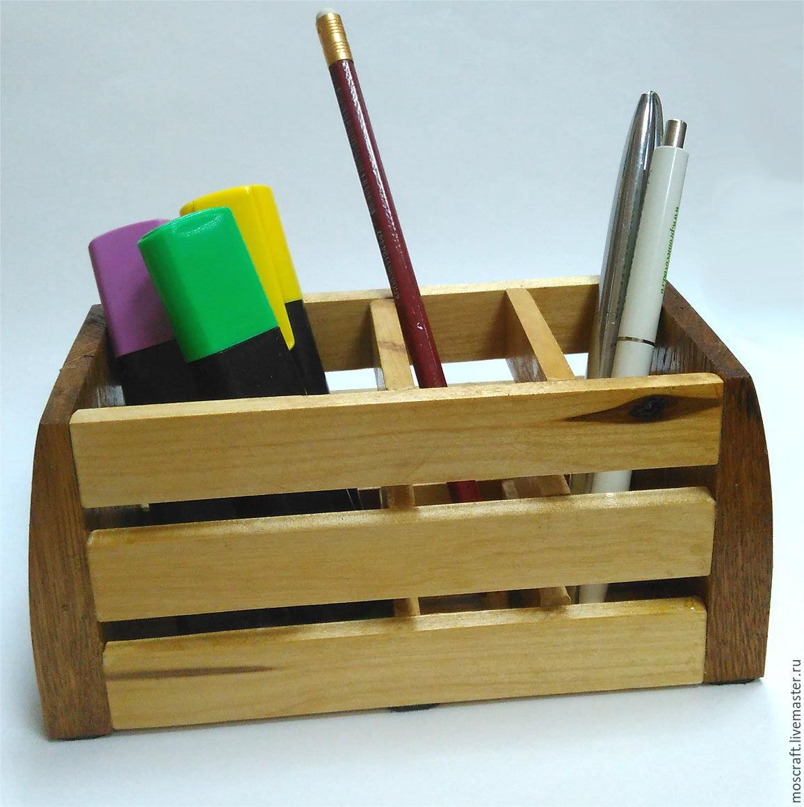 Органайзер для карандашей и ручек своими руками