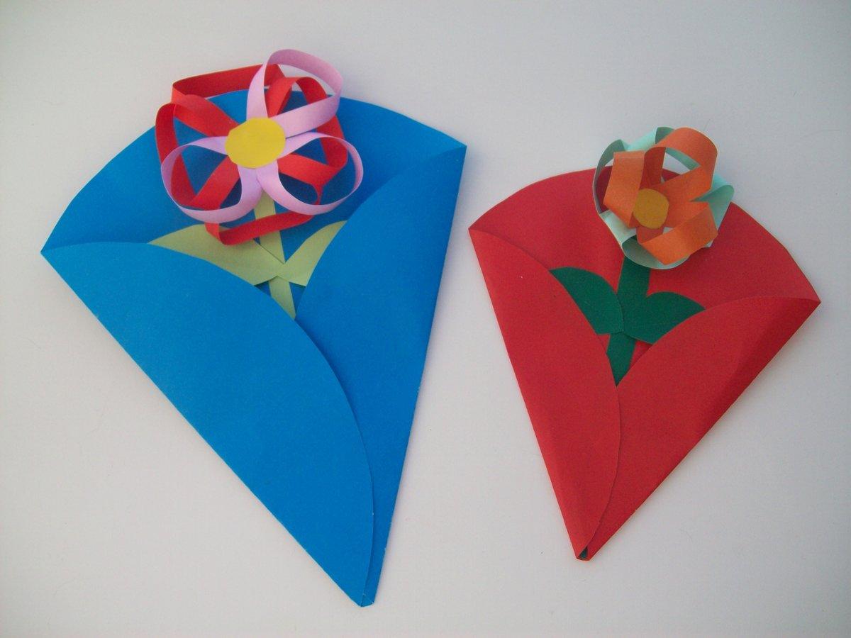 Открытки на День матери своими руками из бумаги для На день матери своими руками из бумаги