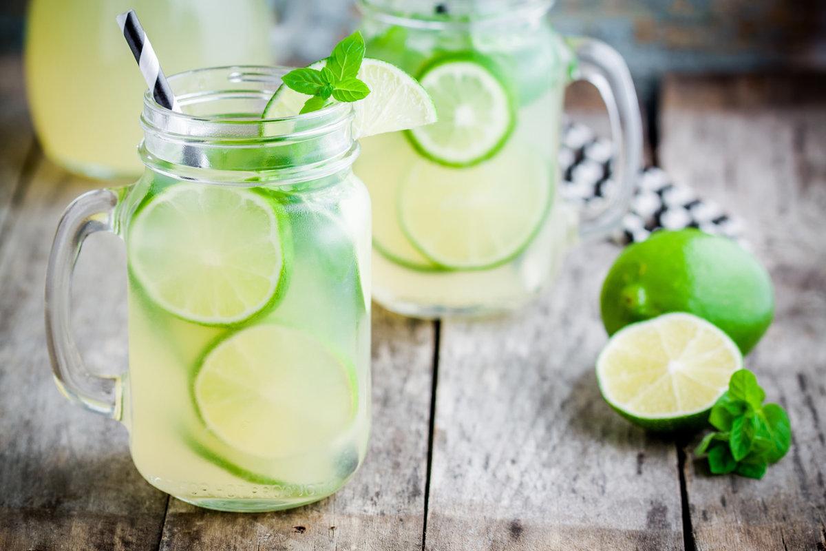 Лимонад из мяты, лайма и лимона в домашних условиях 35
