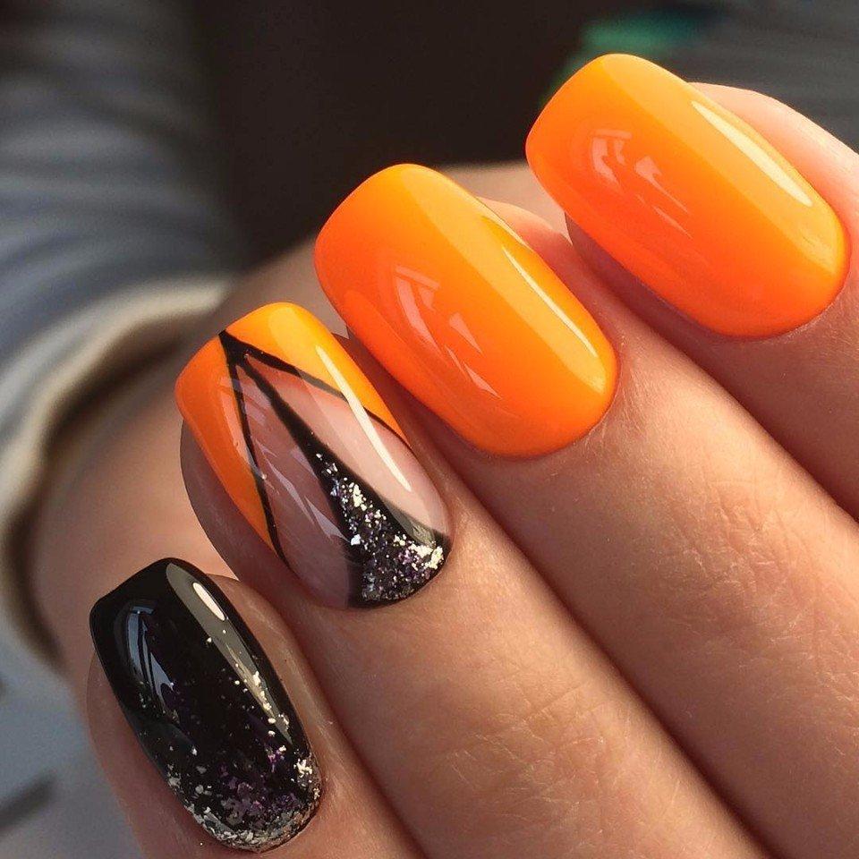 Шеллак Оранжевый Дизайн