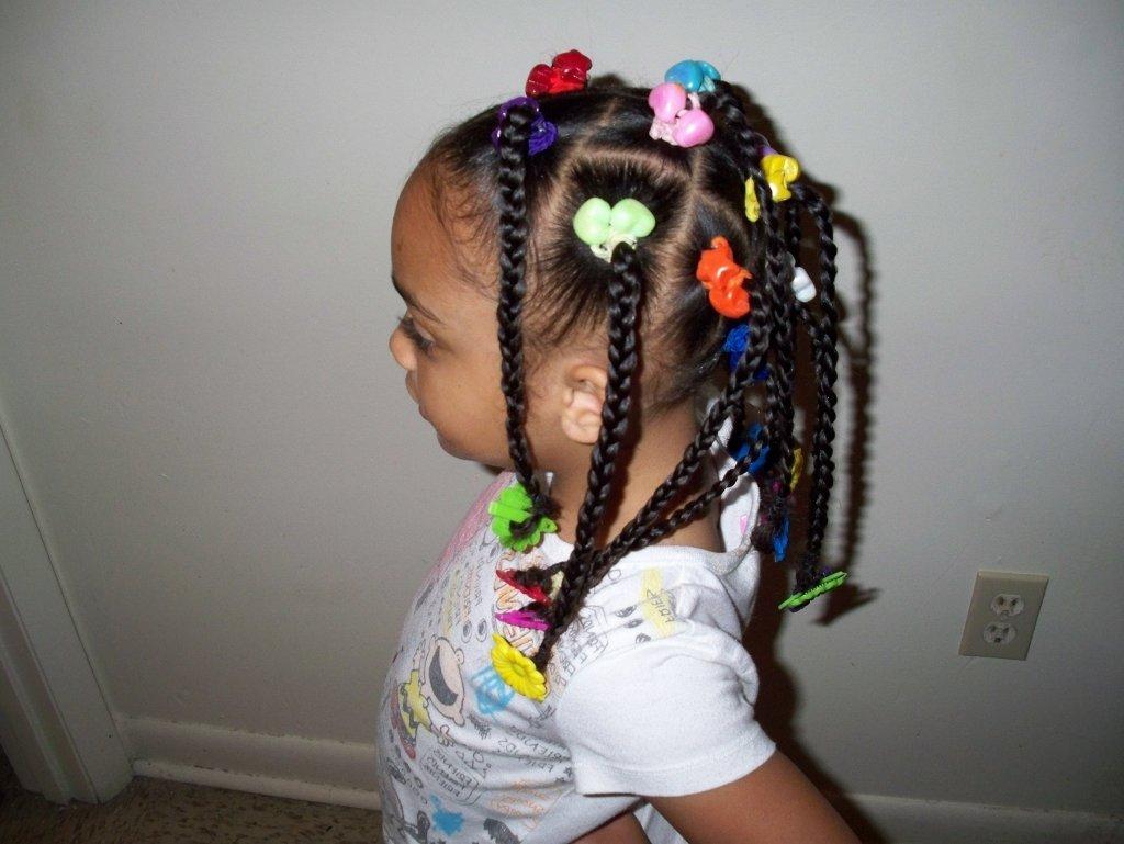 Африканские косички у детей фото