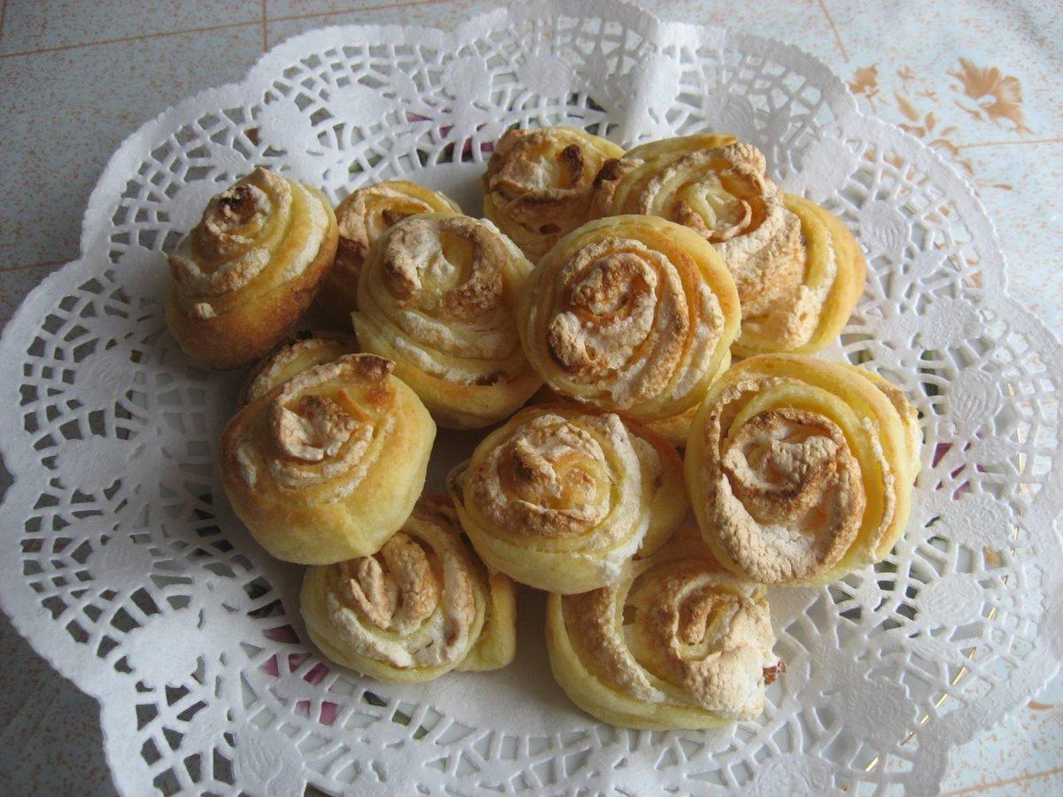 Песочное печенье розочки рецепт пошагово